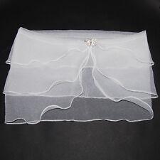 Châle boléro / veste manteau pour hausser robe de mariée blanc cassé neuf