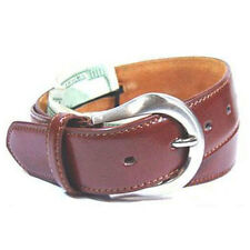 "Leather Brown Money Belt / Travel Belt - XXL 46"" - 50"""