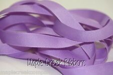 """3yd of Orchid Lavender 5/8"""" Grosgrain Ribbon 5/8"""" x 3 yards neatly wound"""