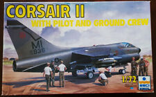 1/72 Esci Corsair II with ground crew