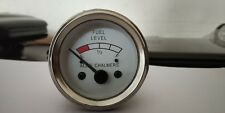 Fuel Gauge For Allis Chalmers ACFU01 with Chrome Bezel