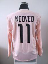 PAVEL NEDVED #11 JUVENTUS a maniche lunghe AWAY FOOTBALL SHIRT JERSEY 2003/04 (L)