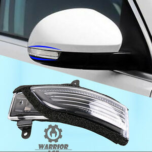 1x Right Side Rear View Mirror Turn Heated Signal 84401AJ000 For Subaru Forester
