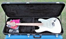 Fender Deluxe Roadhouse Stratocaster-2017 ROADHOUSE-Olympic White-w CASE-L@@K!!