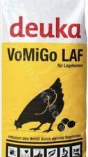 25 Kg Deuka VoMiGo Legehennen Mehl Allein Futter geg. Vogelmilbe