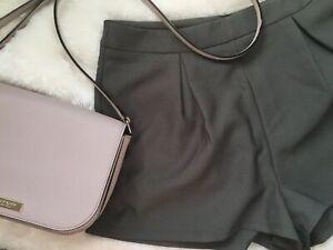 Green Trouser Shorts Charlotte Russe