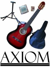 Axiom Beginners Guitar Pack - Childrens 3/4 Size Guitar Complete Pack RED