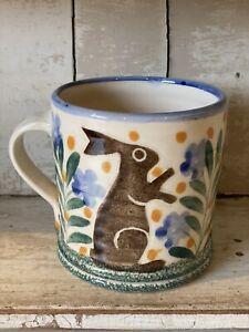 Bell Pottery Spongeware Small Mug