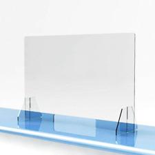 SNEEZE GUARD Acrylic Plexiglass Table Desk Checkout counter CASHIER Shield
