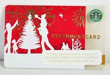 "2006 STARBUCKS CARD ""CHRISTMAS TREE DECORATING"" OLD LOGO NO BALANCE"