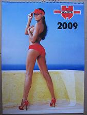Würth Kalender 2009 an Sammler
