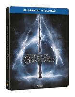 Fantastic Beasts The Crimes Of GrindelwaldSteelbook 3D + 2D Blu Ray