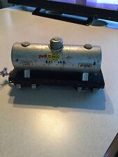 LIONEL TINPLATE PREWAR TRAIN #654 SUNOCO GAS / OIL TANK CAR ~ MADE IN USA ~