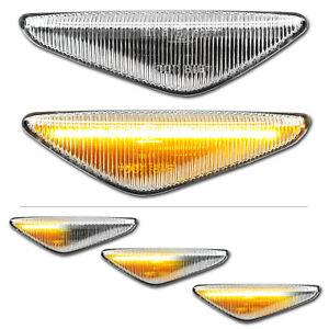 WEISSE dynamische LED Seitenblinker BMW X3 F25 X5 E70 X6 E71 E72 Alpina XD3