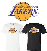 Los Angeles Lakers Main logo T-shirt 6 Sizes S-5XL!!