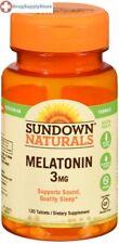 Sundown Melatonin 3mg Bonus Tablet 120ct