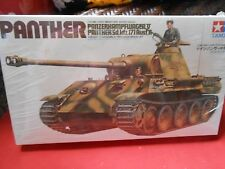 "NEW-Never Opened- Model Kit- TAMIYA 1/35 scale PANTHER Tank Panzerkampfwagen""U"""