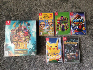 Nintendo Switch Bundle Lot Of 6 Games