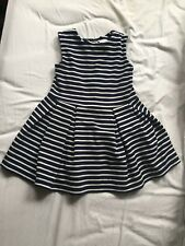 Girls Striped NEXT Dress Age 1 1/2 - 2 Years