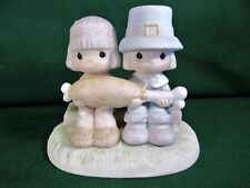 Precious Moments Figurine Brotherly Love 100544 1986
