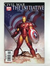 Civil War The Initiative 1 Shot Captain America Avengers Iron Man Marvel Comics