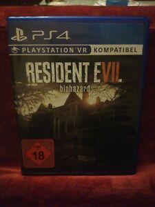 PS4 Resident Evil Biohazard ab 18 USK
