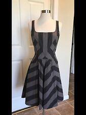 Marc by Marc Jacobs Black/Grey Denim Dress Size 4