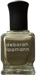 NEW! Deborah Lippmann CONCRETE JUNGLE Polish Lacquer - full size khaki beige