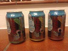 """Lattine Coca-Cola 330 ml""""Aromatic-France"""" Vecchio formato Lotto di 3(Leggi)"""