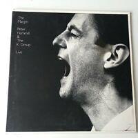 Peter Hammill & K Group - The Margin Live - Double Vinyl LP UK 1st Press EX+/EX+