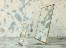 Free Standing Kiko Gold Brass Mirror Nkuku 35x30cm, Large Dressing Table Vanity