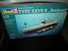 1:72 Revell german submarine Type XXVII B la nutria marina nº 05125 OVP
