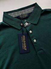 POLO GOLF Ralph Lauren Men's XL Green Moisture Wicking Polo Shirt New