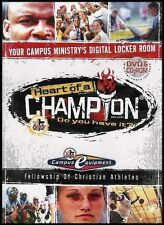 Heart of a Champion: Do You Have It? (Fellowship Of Christian Athletes) (DVD/CD)
