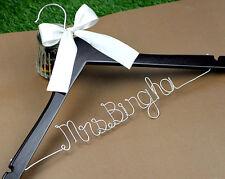 Personalized Wedding Hanger Bridal Bridesmaid Hanger Wedding Shower Gift font B
