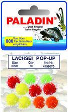 10 x Lachsei  Forellenangeln Pop Up Popup Stör Forellenköder