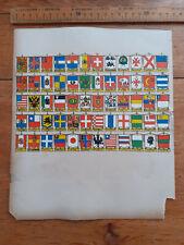 More details for victorian world ensign jacks crests standards sheet