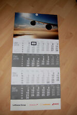 !! Lufthansa 4 Monats Wandkalender  2018 Neu  OVP Kalender !!