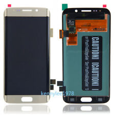 Lcd Display Touch Screen Schermo Per Samsung Galaxy S6 Edge G925 G925F Oro Gold