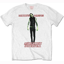 Official T Shirt MARILYN MANSON- ANTICHRIST SUPERSTAR White Mens Licensed New