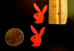 ~~~500~~~   PLAYBOY BUNNY TANNING BODY STICKERS  RED With BOW TIE (Face Left)