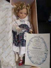 "Knowles Dolls ""Goldilocks"" 7953H by Dianna Effner 15"" w/parasol"