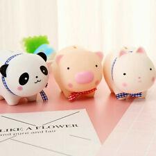 Lindos Animales Moneda Dinero Caja Alcancía caja de ahorro de los niños regalo casa Decoración