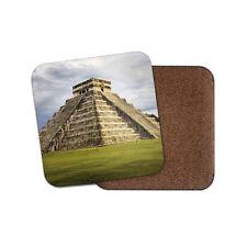 Pirámide de Kukulcán Chichen Itza Coaster-México templo de viaje Fresco Divertido Regalo #8877