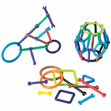 45pc Snap n Click building sticks autism fine motor occupational therapy tool