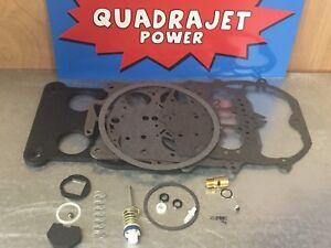 Quadrajet Rebuild Kit. Chevrolet 76-80, Chevy GMC truck 80-89 Best Kit Available