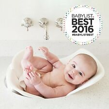 Puj White Soft Foldable Bath Infant Baby Bathing Tub Sink Shower Travel Flyte