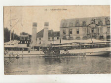 Le Submersible Phoque Submarine France 1912 Postcard US039