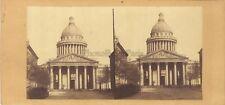 Panthéon Paris Stereo Vintage Albumine ca 1860