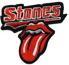 Sew On Badge Music Rock Band Jagger Skull ROLLING STONES Patch Tongue Iron